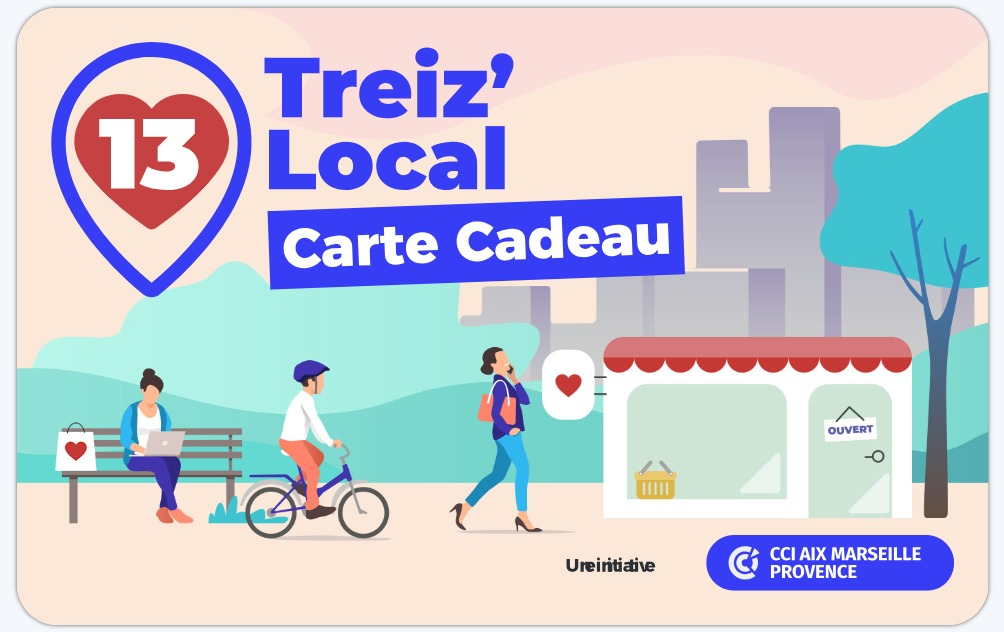 Carte Cadeau Treiz Local